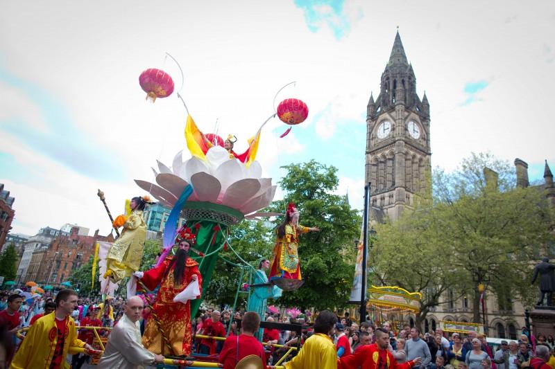 Chinese_opera at manchester day parade
