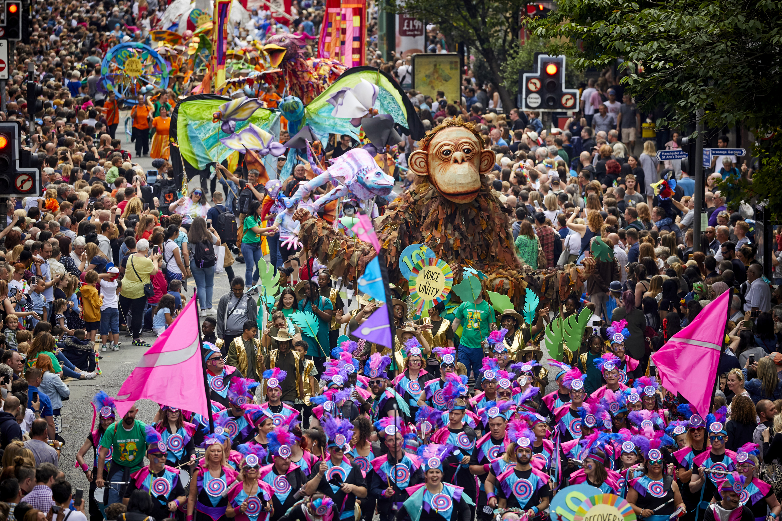 THE 10TH annual Manchester Day parade